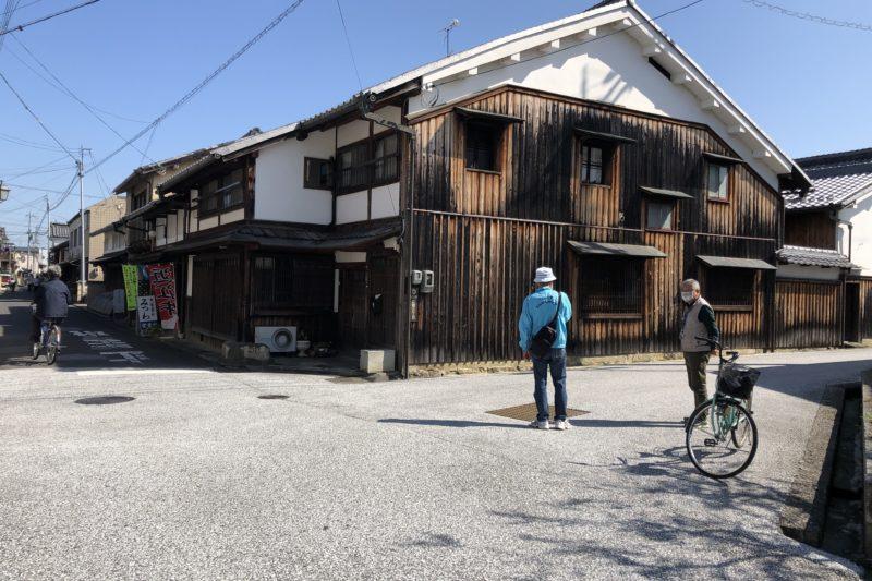 近江八幡の新町通り