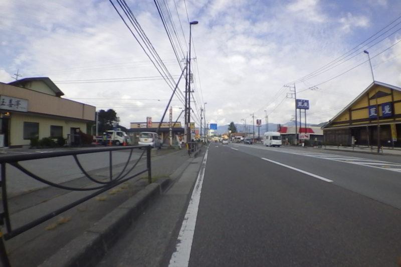 上吉田の街並み