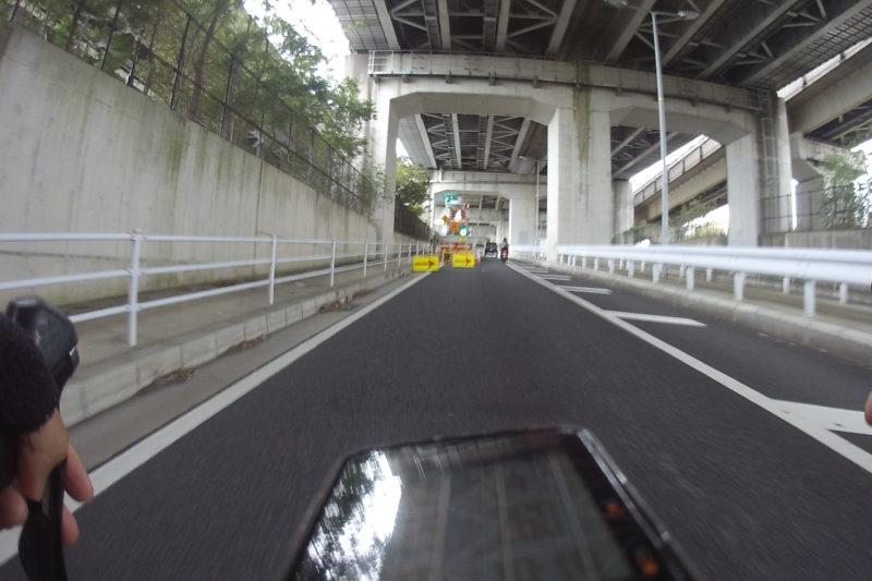 新西湘バイパス側道