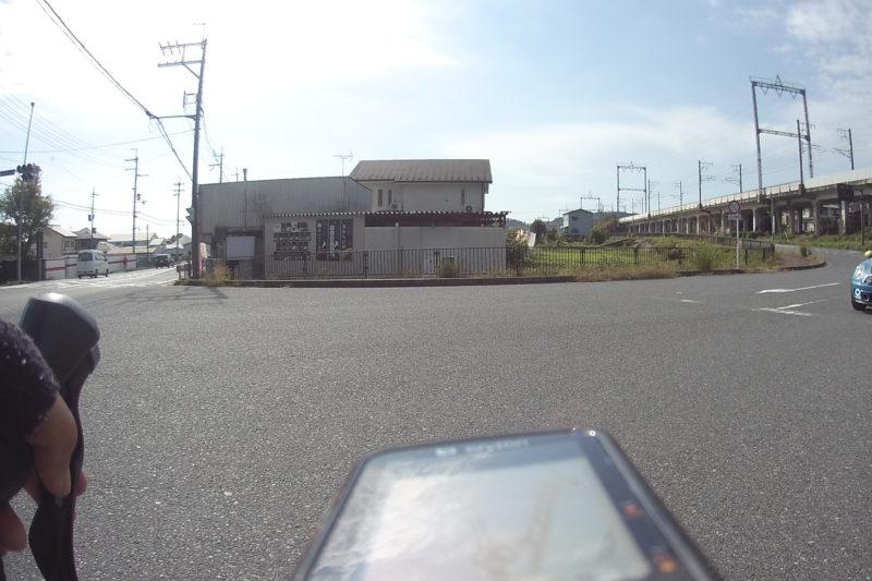 琵琶湖1周コースの分かれ道