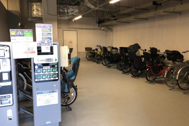 横浜市役所駐輪場