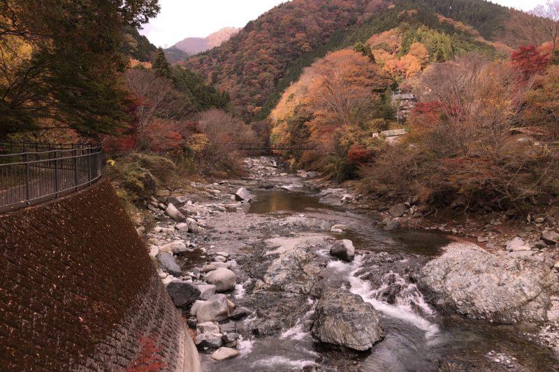 中川温泉の紅葉