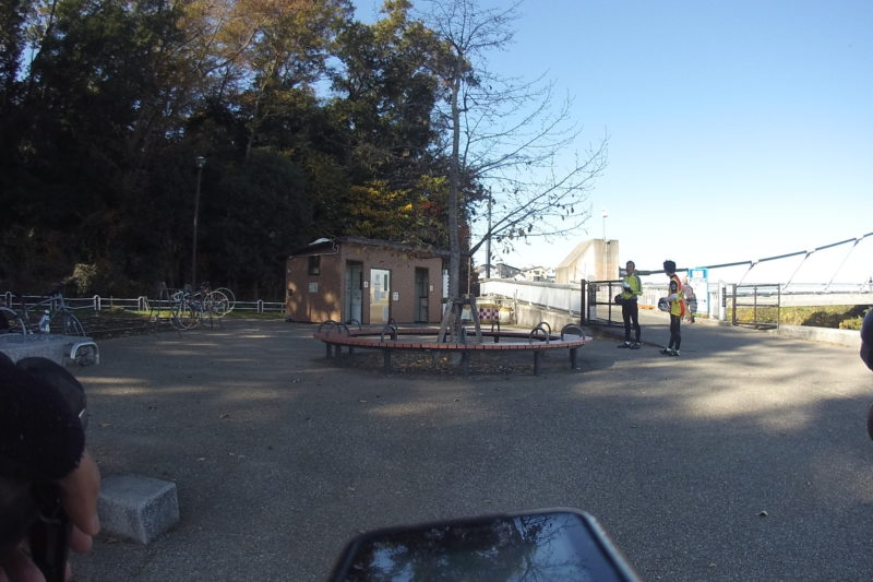 境川サイクリングロードのポケットパーク