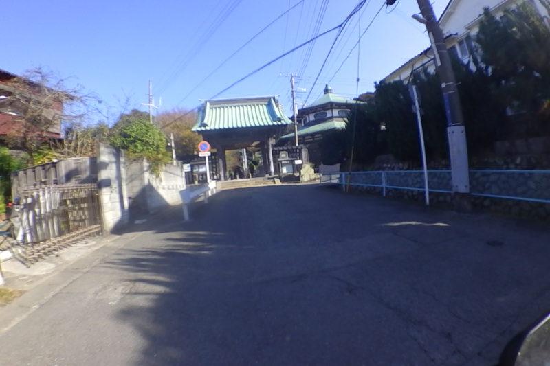 妙本寺の第一門