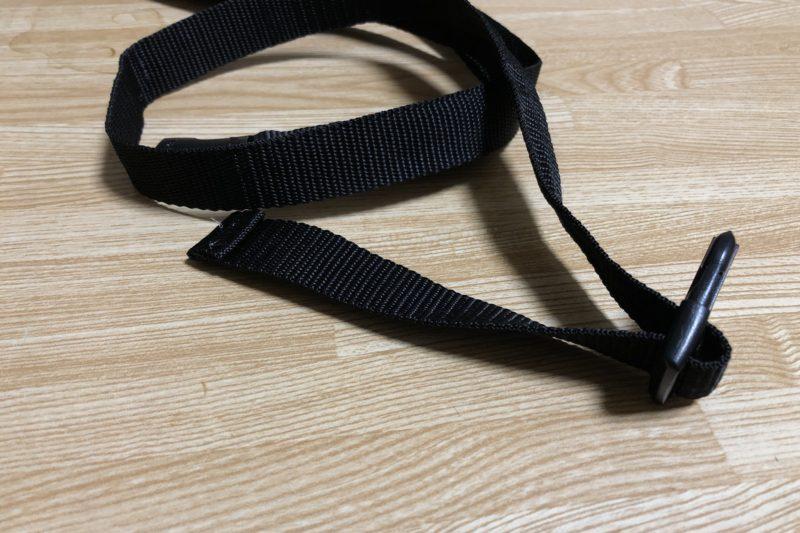 輪行用の肩掛けベルト