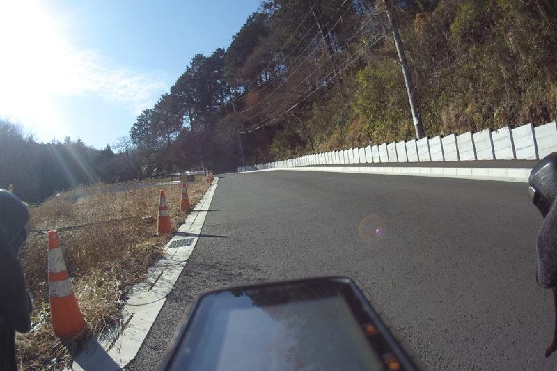 飯山観音への上り道