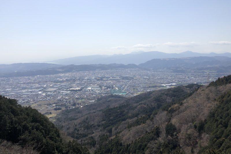 ヤビツ峠からの展望