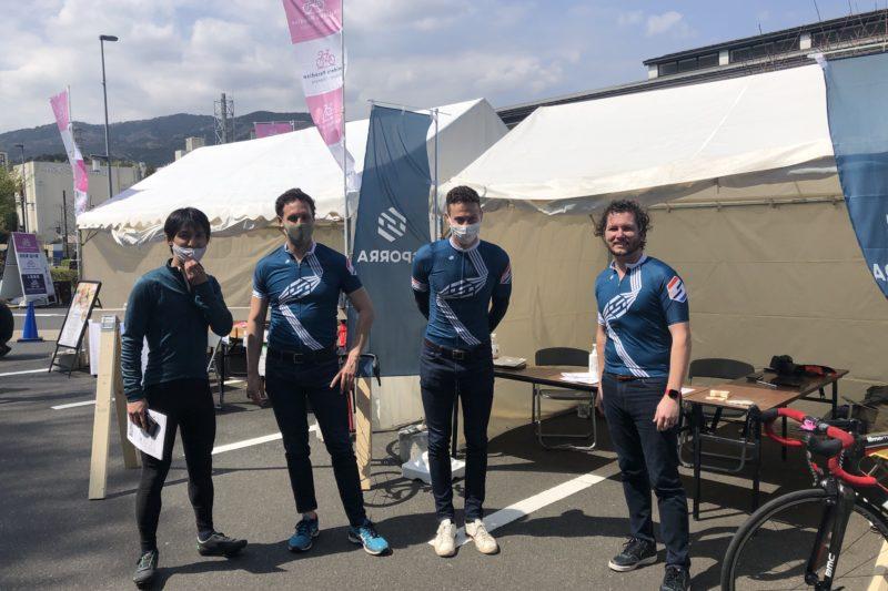 チャリダーズパラダイス箱根・小田原に参加しているSporraの皆さん