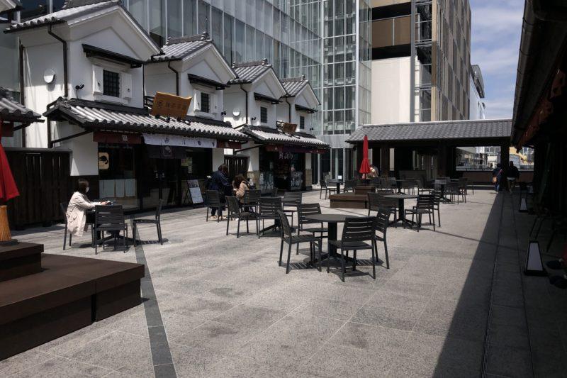 ミナカ小田原の広場