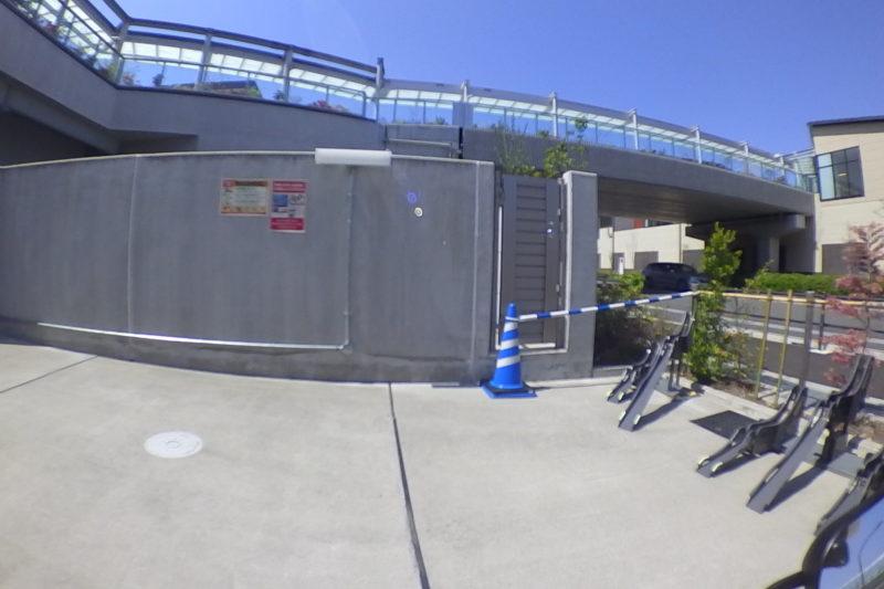南町田グランベリーパークの駐輪場