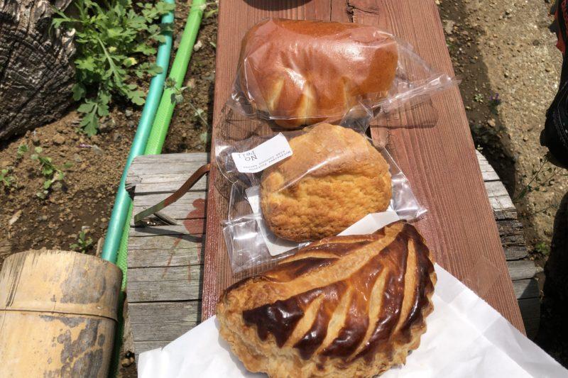 NoPell Bakery(ノペル ベーカリー)のパン3種