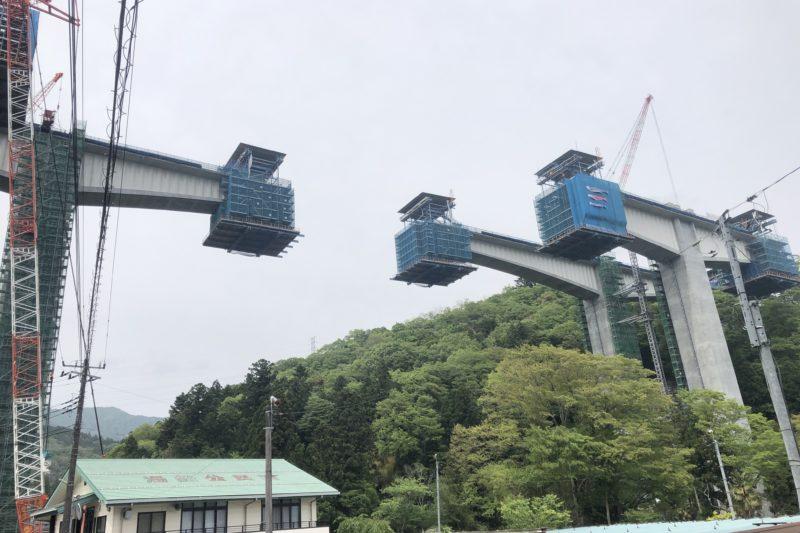 新東名高速工事