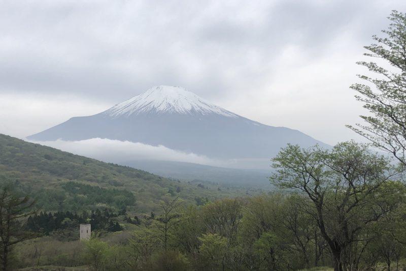 山中湖小山線からの富士山
