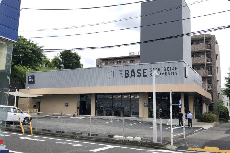 THE BASEの外観