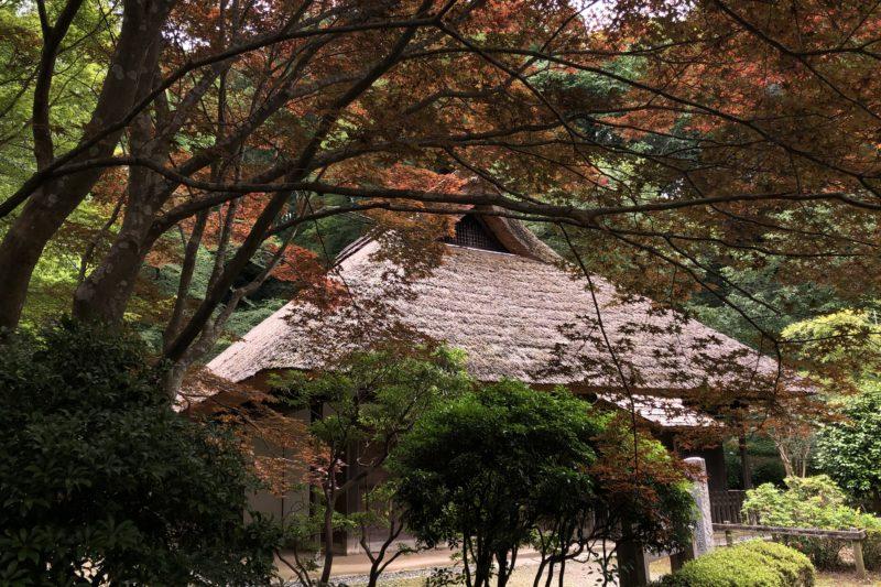 薬師池公園の古民家
