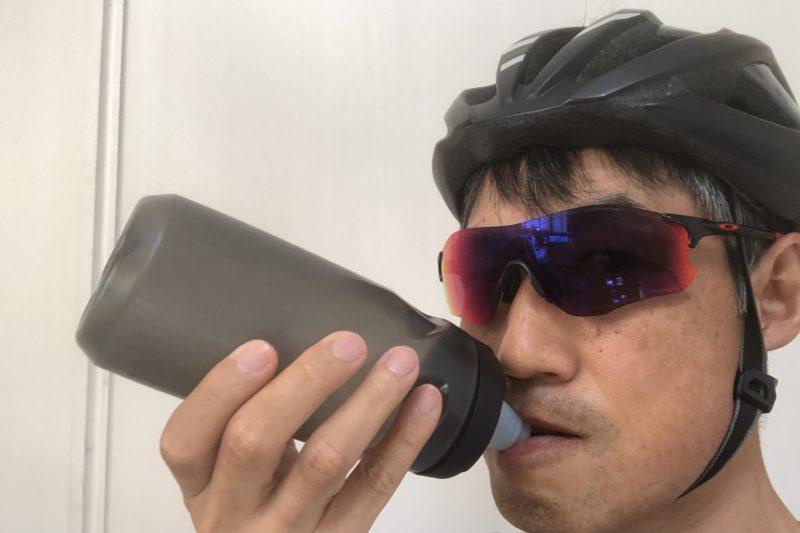 ロードバイクでの給水方法