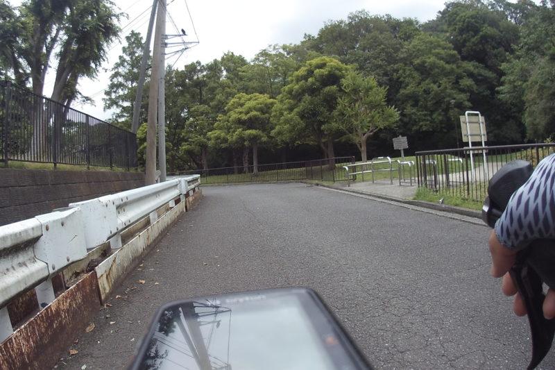 久良岐公園の入口