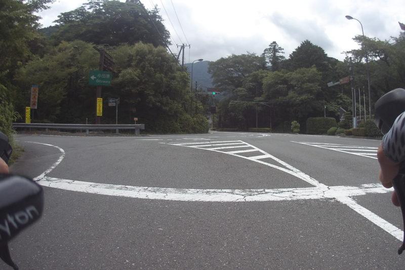 箱根旧道の信号