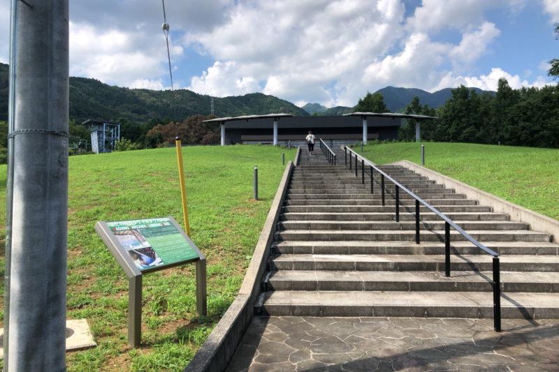 秦野戸川公園のクライミングパーク
