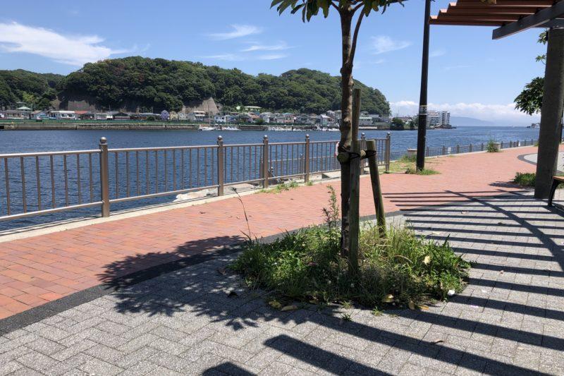 浦賀の入り江