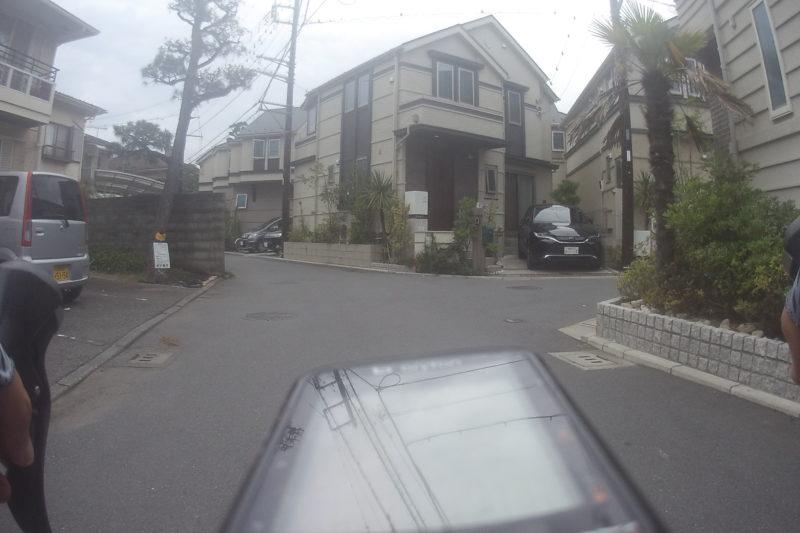 茅ヶ崎市の住宅街