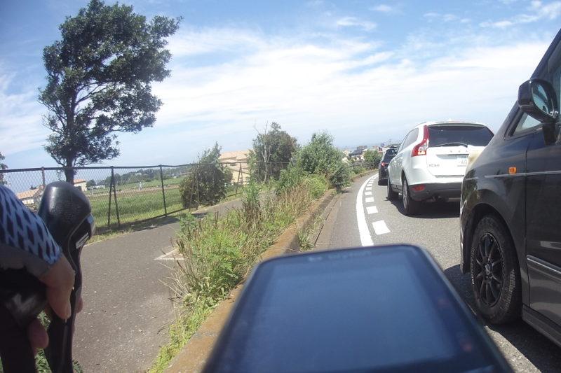 ソレイユの丘の手前