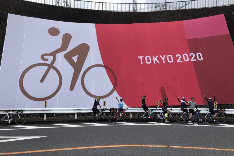 相模原のオリンピックコースにあるピクトグラム