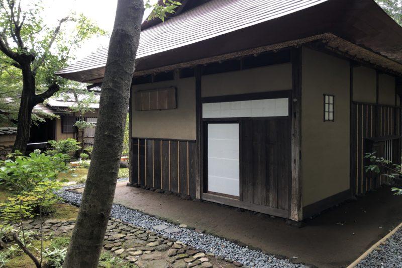 松永記念館の茶室