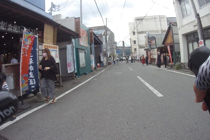 小田原漁港の食堂街