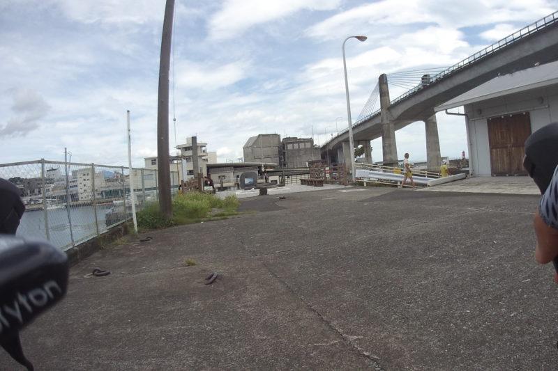 小田原漁港の休憩所