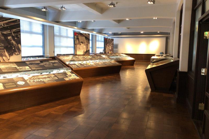 日産エンジンミュージアムの歴史展示