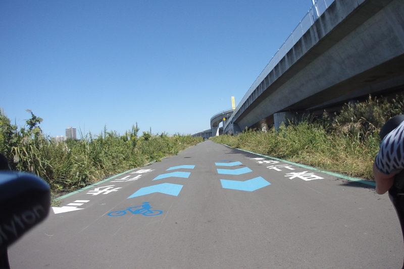 相模川の左岸道路